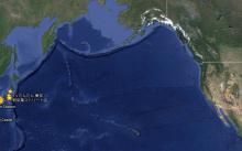 radiazioni sulle coste canadesi